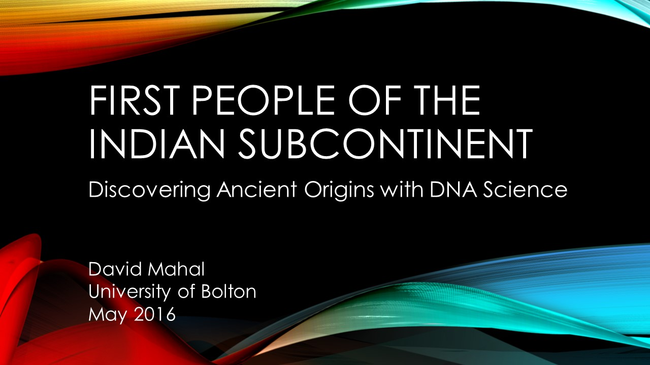 First People of the Indian Subcontinent